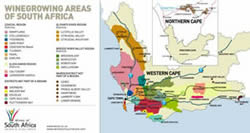 wine growing areas south africa